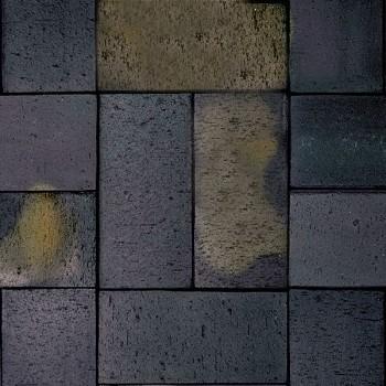 Брусчатка черная обоженная, с гранью (schwarz-buntgeflammt, gefast), Röben, Благоустройство территории купить в Санкт-Петербурге,