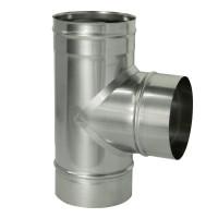 Тройник 90 градусов для трубы D115 AISI439 0,5мм