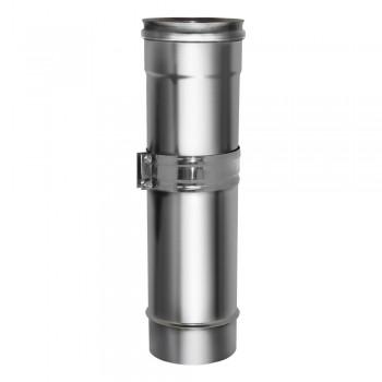 Труба телескопическая 260-400мм D115 AISI439 0,5мм, Дымок