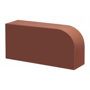Кирпич керамический Терракот, гладкий, печной, радиальный, R-60, КС-Керамик, Печной кирпич облицовочный  купить в Санкт-Петербурге,