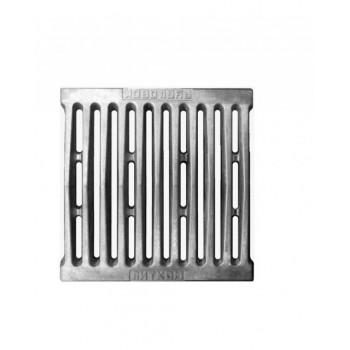 Решетка колосниковая РД-4 для дров и торфа, 250х250х25 мм, Рубцовский литейный комплекс ЛДВ (Литком), Печное литье купить в Санкт-Петербурге,
