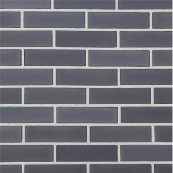 Керамическая плитка LODE Tybet темно-серая гладкая 1НФ, облицовочная
