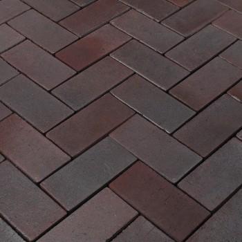 Тротуарная клинкерная брусчатка Penter Potsdam 200x100x52 MF