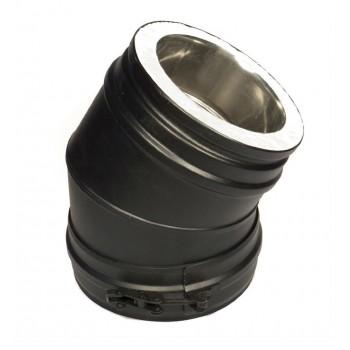 Отвод 45° черный D 200/250 SCHIEDEL PERMETER 50