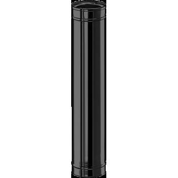 Элемент трубы 1000 мм черный D 200/250 SCHIEDEL PERMETER 50