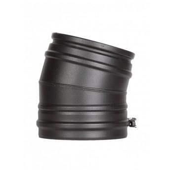 Отвод 15° черный D 200/250 SCHIEDEL PERMETER 50