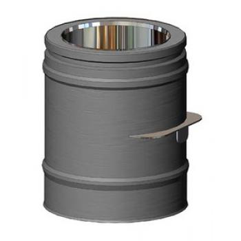Шибер серый D 130/180 SCHIEDEL PERMETER 50