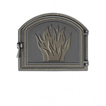 Дверь Везувий, 415х490 мм, 218, бронза