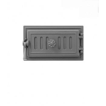 Дверца поддувальная В236А, антрацит, Везувий, Печное литье купить в Санкт-Петербурге,