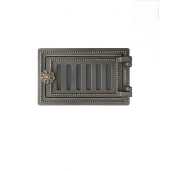 Дверца поддувальная ВДП-2Б, бронза, Везувий, Печное литье купить в Санкт-Петербурге,
