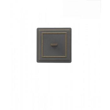 Дверца прочистная В237Б, бронза, Везувий, Печное литье купить в Санкт-Петербурге,