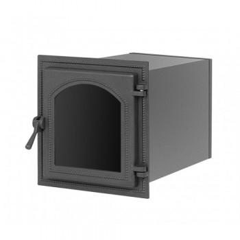 Духовой шкаф В220ША, 400x370х500 мм, антрацит, со стеклом, Везувий, Печное литье купить в Санкт-Петербурге,
