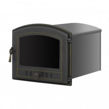 Духовой шкаф В224ШБ, 415х490х475 мм, бронза, со стеклом, Везувий, Печное литье купить в Санкт-Петербурге,