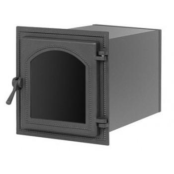 Духовой шкаф В270ША, 350x320x400 мм, антрацит, со стеклом, Везувий, Печное литье купить в Санкт-Петербурге,