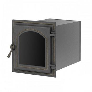 Духовой шкаф В270ШБ, 350x320х400 мм, бронза, со стеклом, Везувий, Печное литье купить в Санкт-Петербурге,
