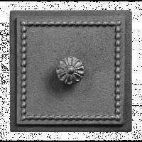 Дверка прочистная Везувий В235А, антрацит, 170x170 мм