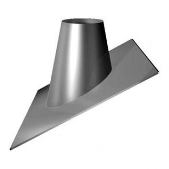 Кровельный проходной элемент (сэндвич), уклон 33-45°, D 200/300 мм, изоляция 50 мм, нержавеющая сталь AISI 321/304