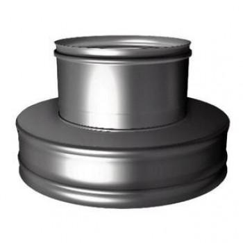 Переходник сэндвич - одностенная труба (термо-моно) D 200/300 мм, изоляция 50 мм, нержавеющая сталь AISI 321/304