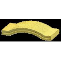 Сводчатая плита N+F малая 520х300х60 мм