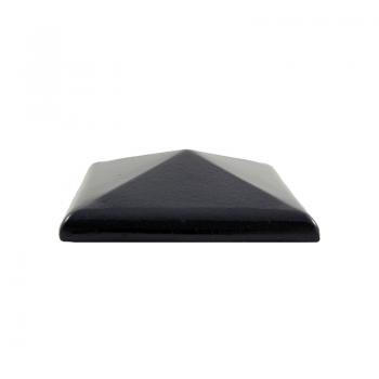 Колпак керамический C30 для столбика заборного, тёмно-коричневый, ZG-Clinker, Благоустройство территории купить в Санкт-Петербурге,
