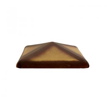 Колпак керамический С38 для столбика заборного, жёлтый тушевой, ZG-Clinker, Благоустройство территории купить в Санкт-Петербурге,