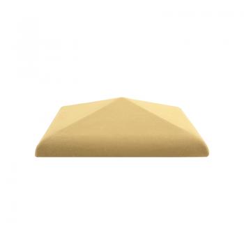 Колпак керамический C30 для столбика заборного, желтый, ZG-Clinker, Благоустройство территории купить в Санкт-Петербурге,
