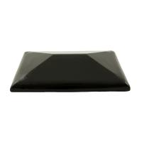 Керамический колпак на столбы для забора ZG-Clinker CP темно-коричневый, 300х425 мм