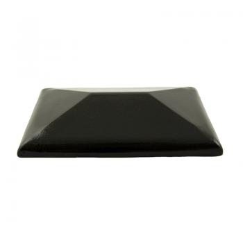 Колпак керамический CР для столбика заборного, тёмно-коричневый, ZG-Clinker, Благоустройство территории купить в Санкт-Петербурге,