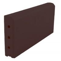 Бордюрный камень ZG Clinker KR коричневый (350x130x37)