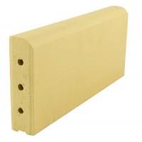 Бордюрный камень ZG Clinker KR желтый (350x130x37)