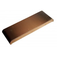 Парапетная плитка ZG-Clinker КР20 каштановый, 190x110x25 мм