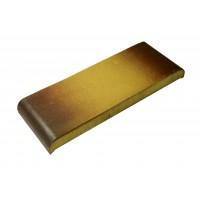 Парапетная плитка ZG-Clinker КР30 желтый тушевой, 305x110x25 мм