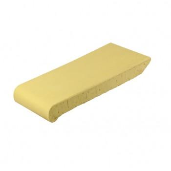 Капельный клинкер (Подоконники) ОК 23 Желтый, ZG-Clinker, Благоустройство территории купить в Санкт-Петербурге,